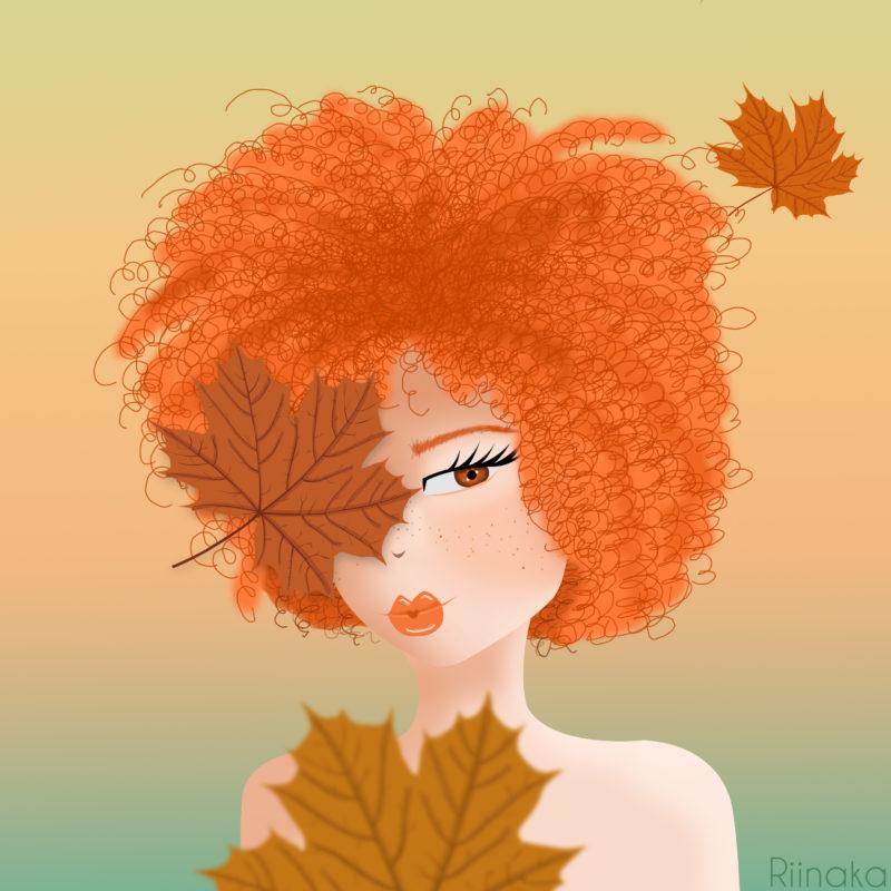 Illustration Beauté Rousse